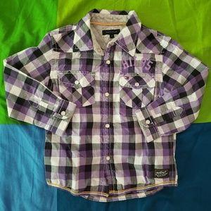 Tommy Hilfiger Plaid Button Down Shirt